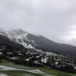 1st snowfall verbier fall 2013