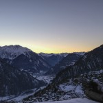 Altitude Verbier sunset 2013
