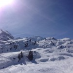 Sunshine in Verbier