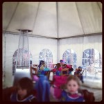 ski lesson kids verbier