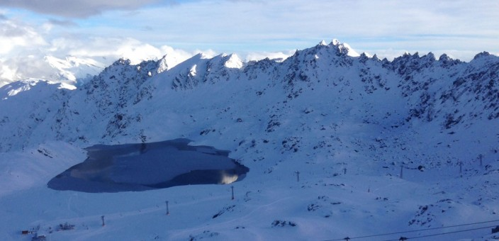 First powder day of the season in Verbier!