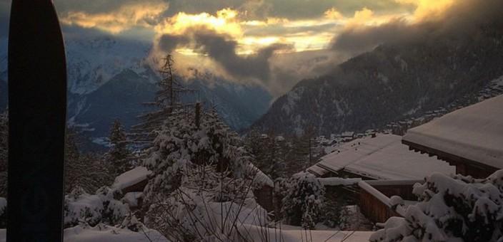 Fresh snow in Verbier