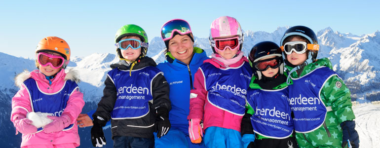 Altitude Verbier children lessons