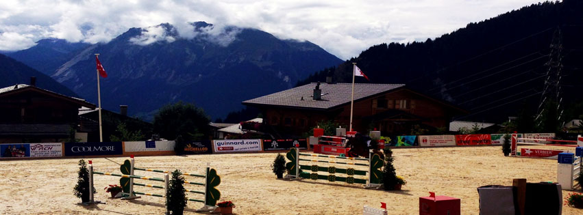 Verbier horse jumping