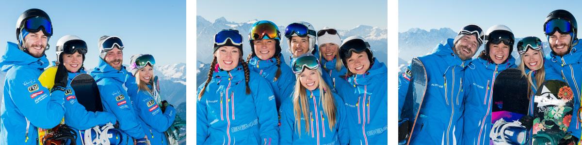 Verbier ski snowboard school