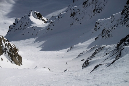 off piste ski lesson verbier