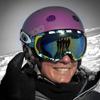 Ski race coach Camilla