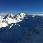 Verbier skiing Mont Gele