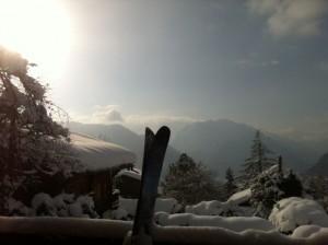 Verbier snow