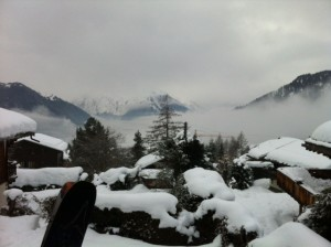 View in Verbier