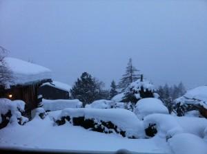 Deep snow Verbier