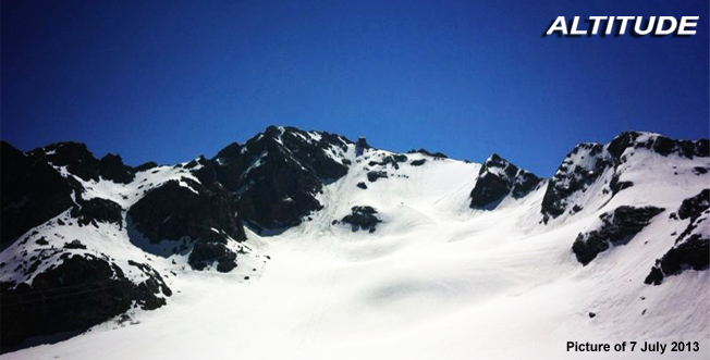 Summer skiing in Verbier 2013