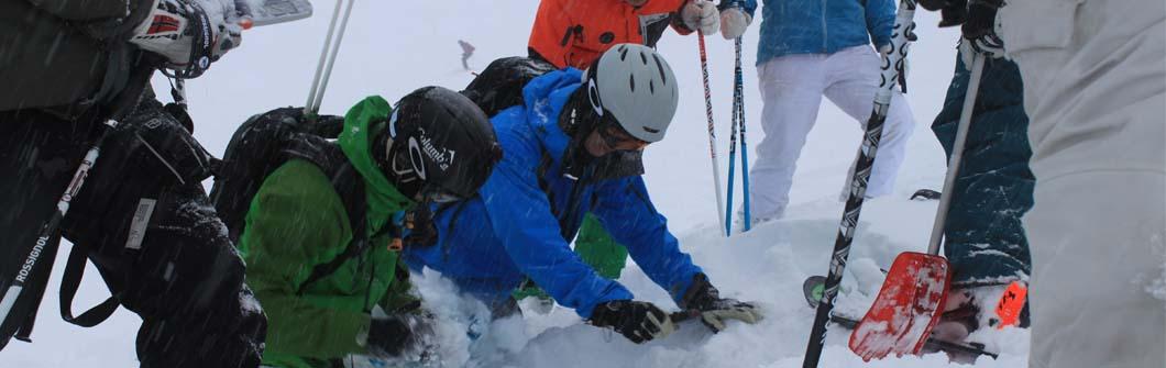 Avalanche training verbier