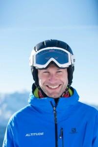 Ski instructor Sandy Miller