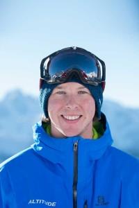 Ski instructor Verbier Tom Hull