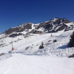 Verbier April snow conditions