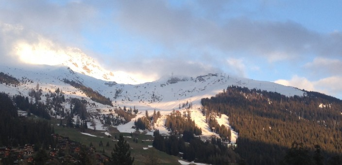 Verbier ski slopes closed for the summer
