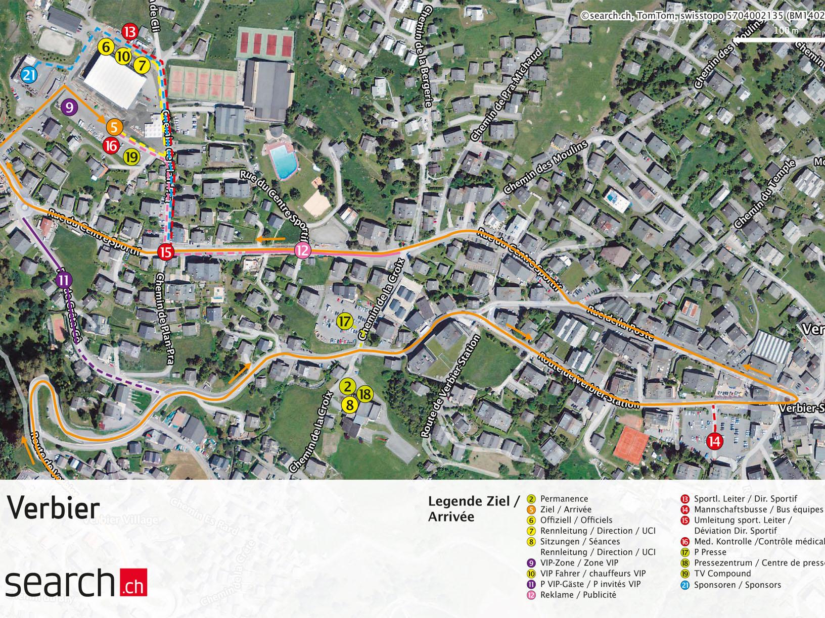 Finish Verbier - Tour de Suisse 2014