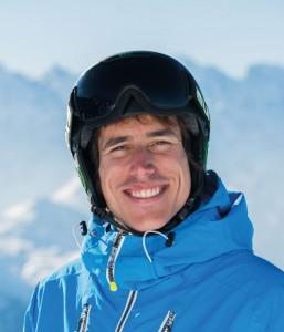 Ski instructor Alejandro Hernandez