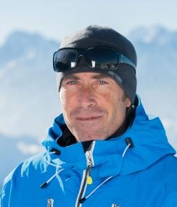 Ski instructor Jean Yves