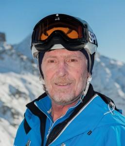 Ski instructor Remy Guillaume Gentil