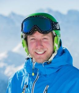 Ski instructor Ross Murdoch