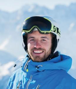 Ski instructor Sam Goodlass