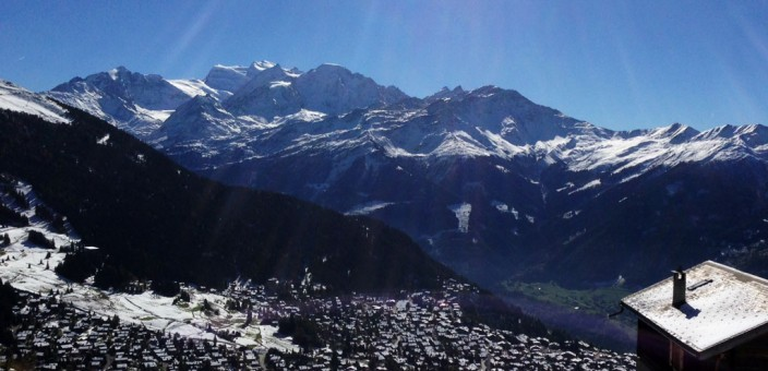 Winter is coming in Verbier