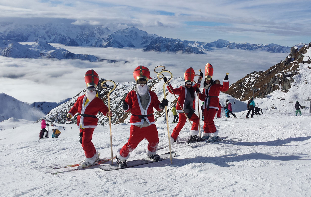 St Nicholas winter verbier