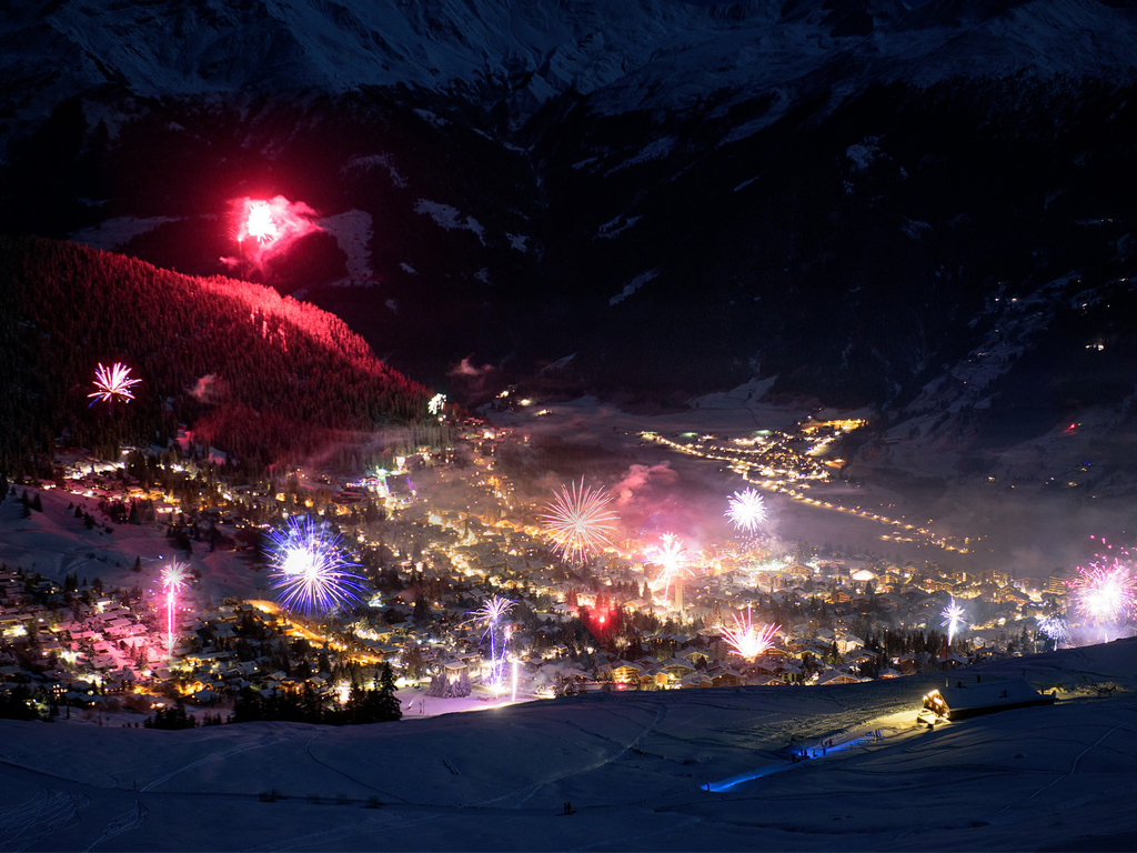 Verbier New Years Eve - Paul Keppel