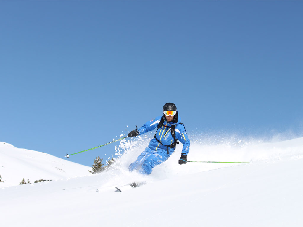 off piste skiing verbier