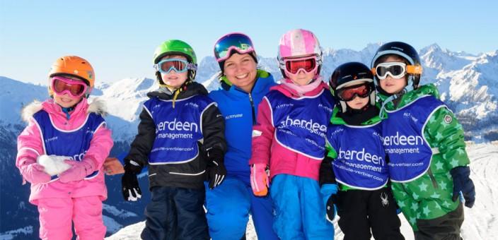Children's ski equipment