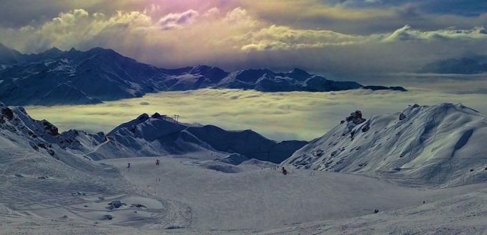 Perfect snow conditions in Verbier