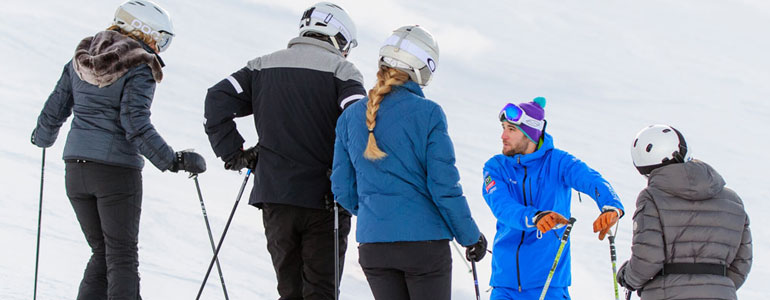 ski lessons verbier groups