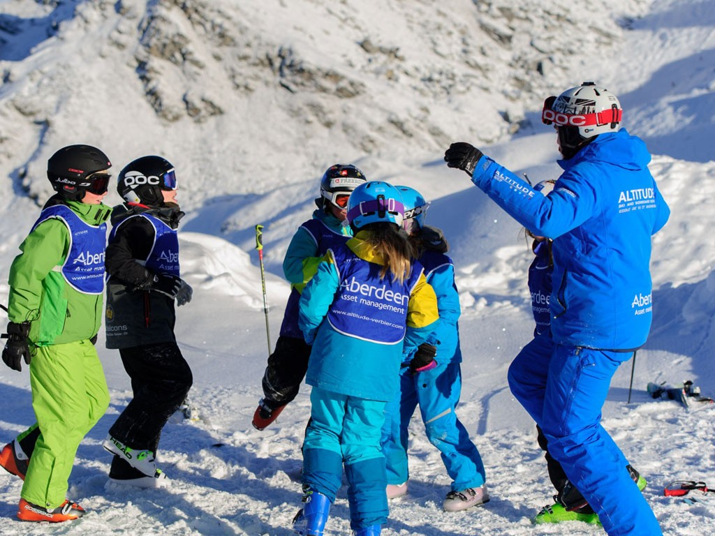 Children group lessons verbier
