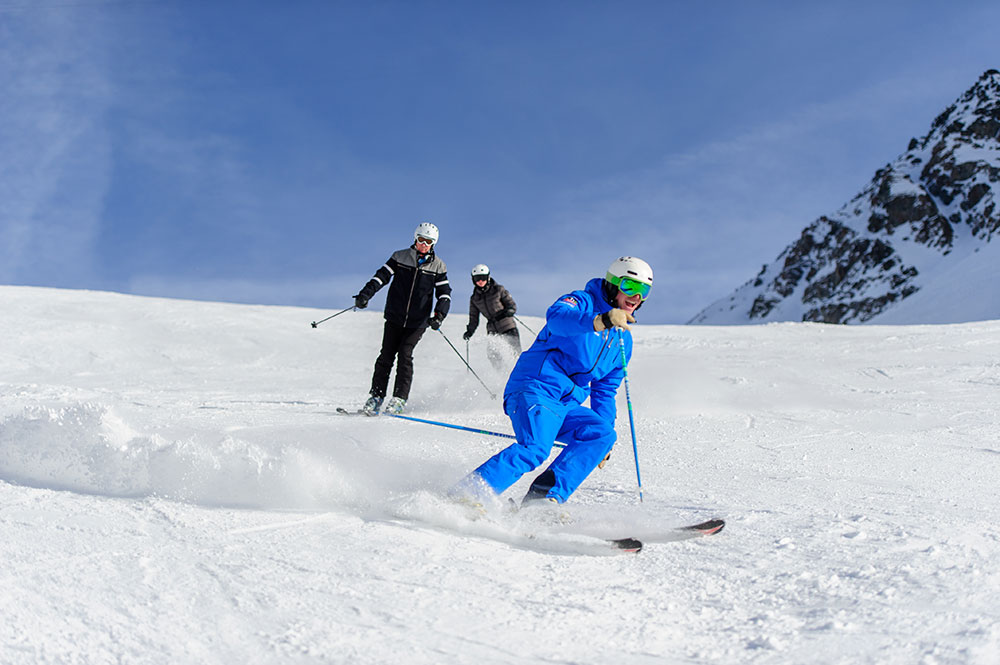 verbier advanced ski lesson