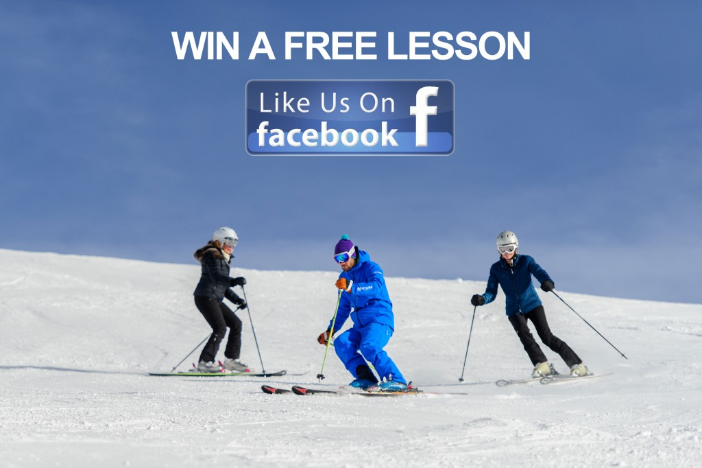 win a free ski or snowboard lesson