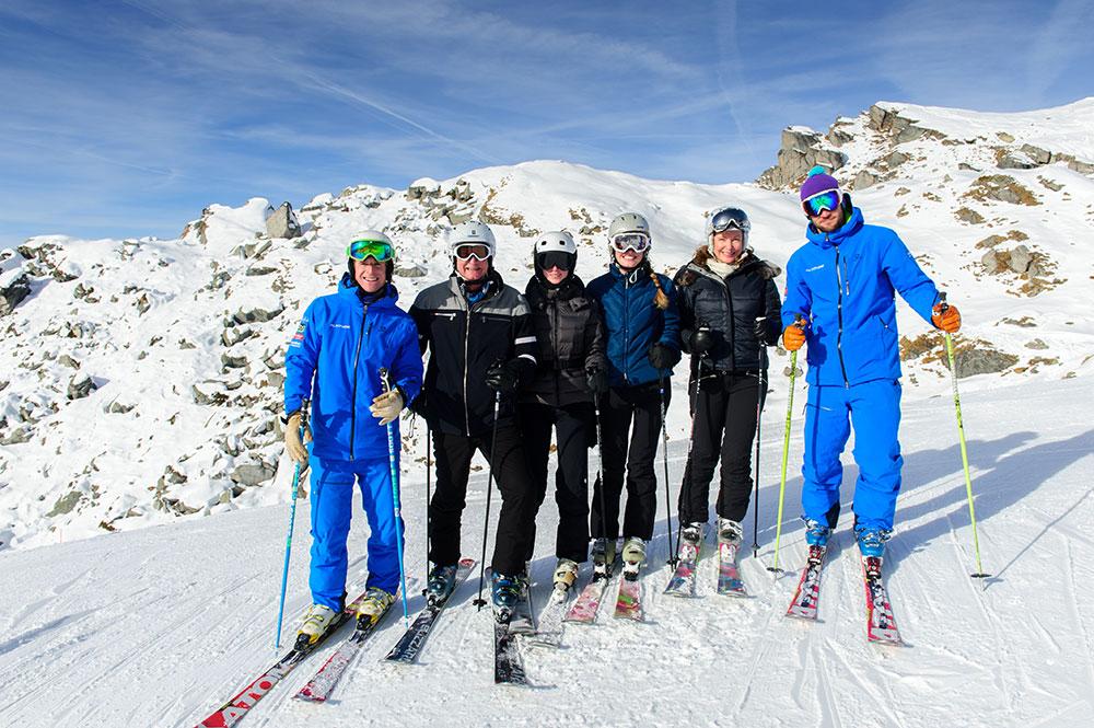 verbier family ski tour