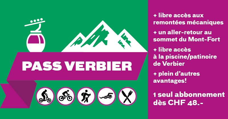 Pass Verbier été 2015