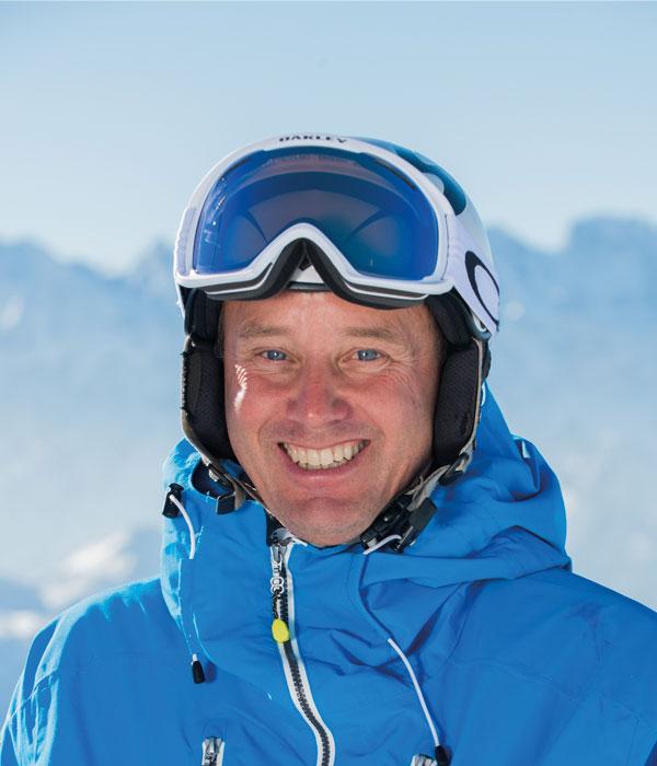 Ski instructor Roddy Willis