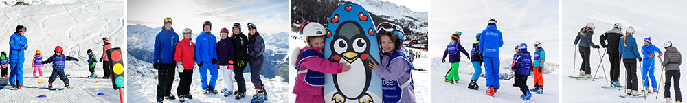 Group lessons verbier switzerland
