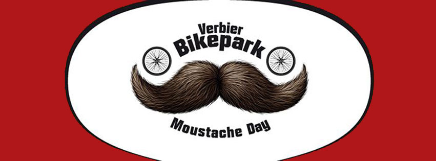 Verbier bike park moustache day