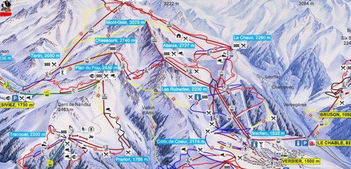 New skipass rates in Verbier