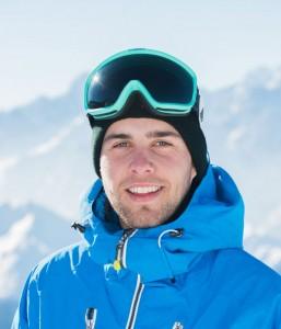 Ski instructor Adam Russell