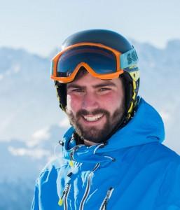 Ski instructor Alex McRobb