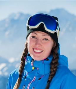 Ski instructor Amy Piercy