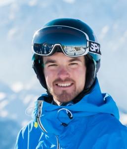 Ski instructor Chris Brown