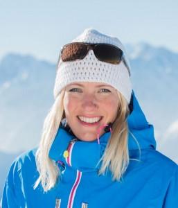 Ski instructor Helena Turley