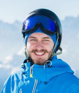 Snowboard instructor Matt Hughes