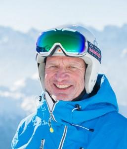 Ski instructor Mike Braun